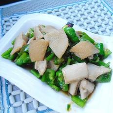 牛肚炒青椒