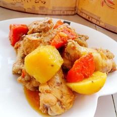 胡萝卜土豆焖鸡翅根