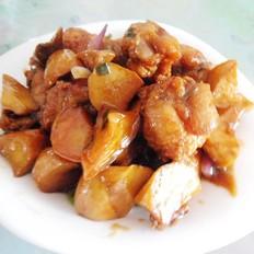 鸡翅烧菌菇