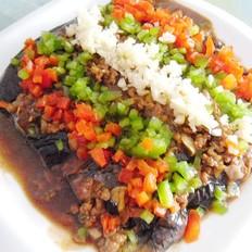 九阳炒菜机肉末烧茄子