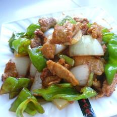 尖辣椒炒洋葱