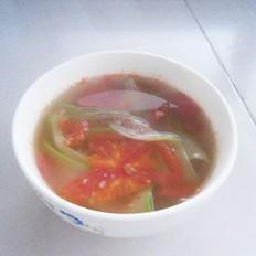 番茄瓜片汤