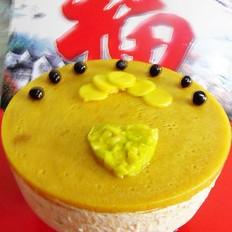 八寸芒果慕斯蛋糕