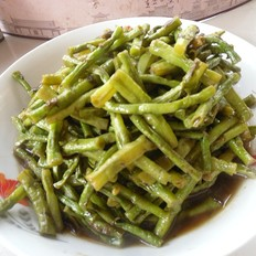 橄榄菜烧豇豆