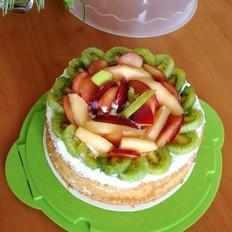 鲜果裸蛋糕(八寸戚风)