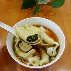 荠菜笋尖猪肉饺