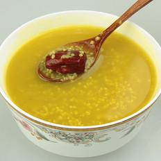 红枣小米苦荞粥