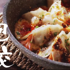 让人惊艳的大虾抱蛋饺