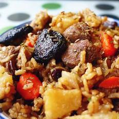 粮品五谷·杂粮羊肉焖饭