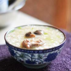 鲜笋香菇排骨养生小米粥·山西小米清水一煮米飘香