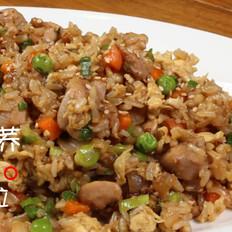 鸡肉苦荞粒粒饭
