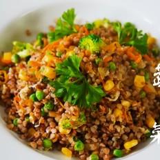 鲜蔬荞麦菜