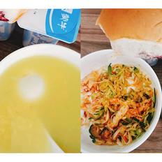 玉米糁黄小米粥