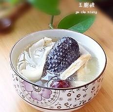 百合淮山乌鸡汤