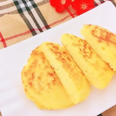 玉米面换种吃法,健康又美味——奶香玉米饼!