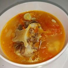 可喝汤又可以当菜~开胃酸甜番茄牛尾汤!