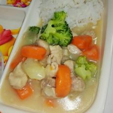 奶油蔬菜煲宝妈必备菜