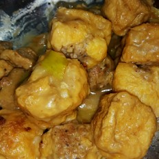 豆腐泡塞肉简单好吃