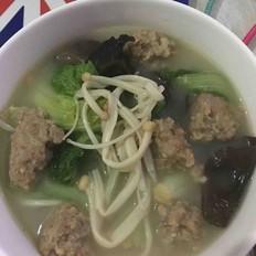 猪肉丸子汤