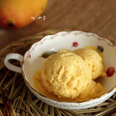 芒果椰子冰淇淋