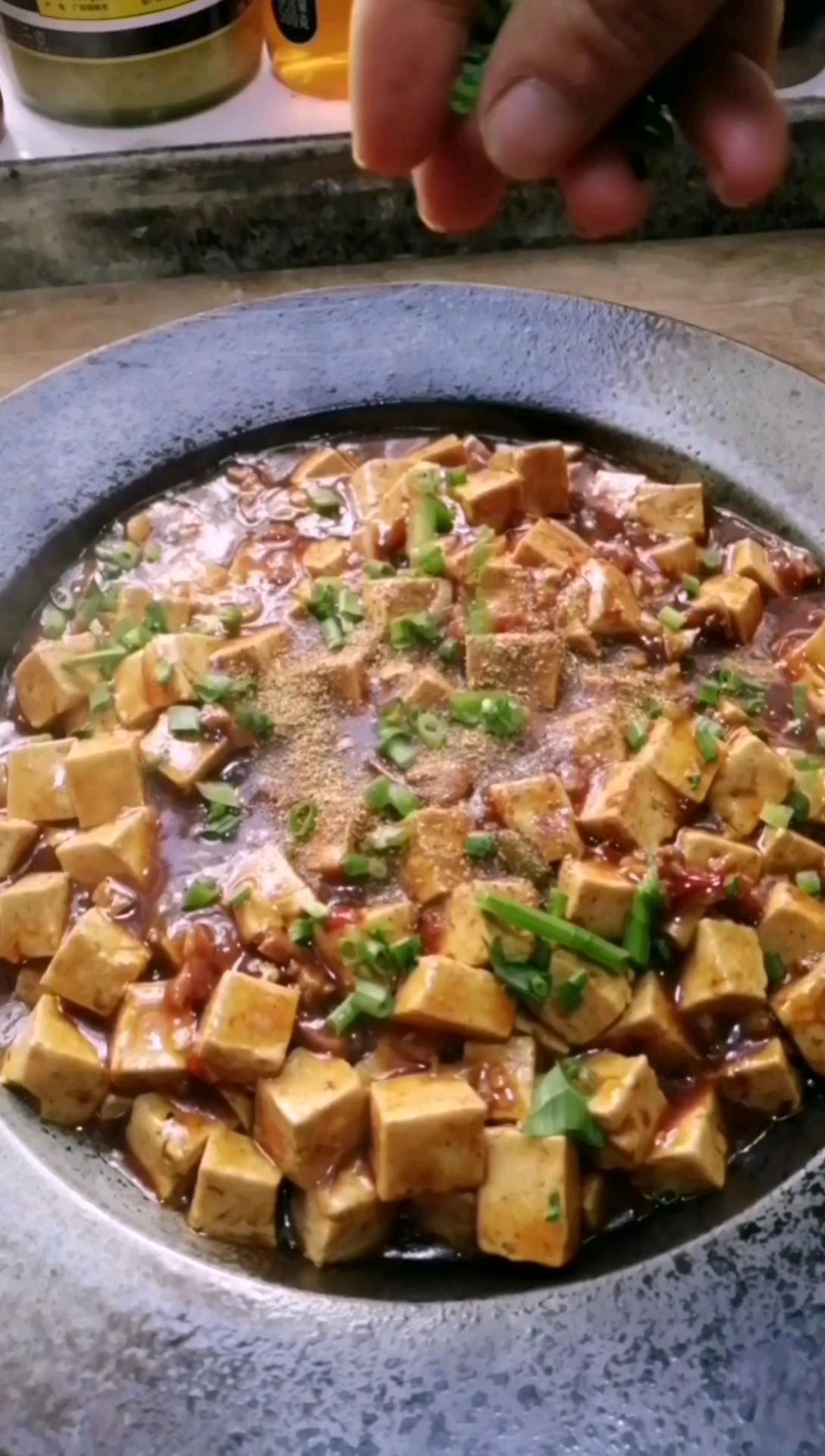 简单的麻婆豆腐
