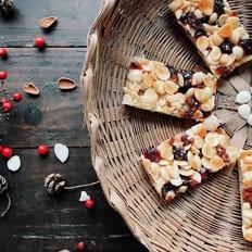 焦糖杏仁蔓越莓饼