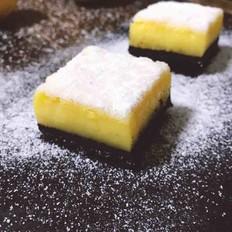 柠檬方砖蛋糕