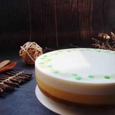 芒果酸奶慕斯蛋糕