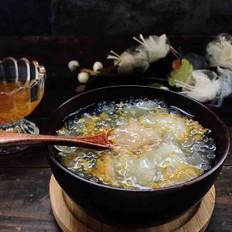 银耳西米粥