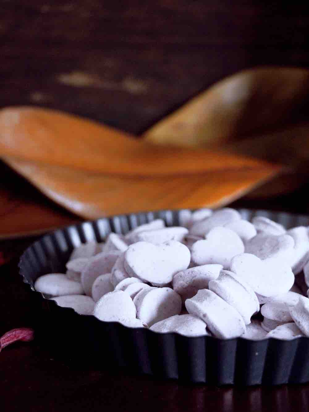 蓝莓爱心棉花糖的做法