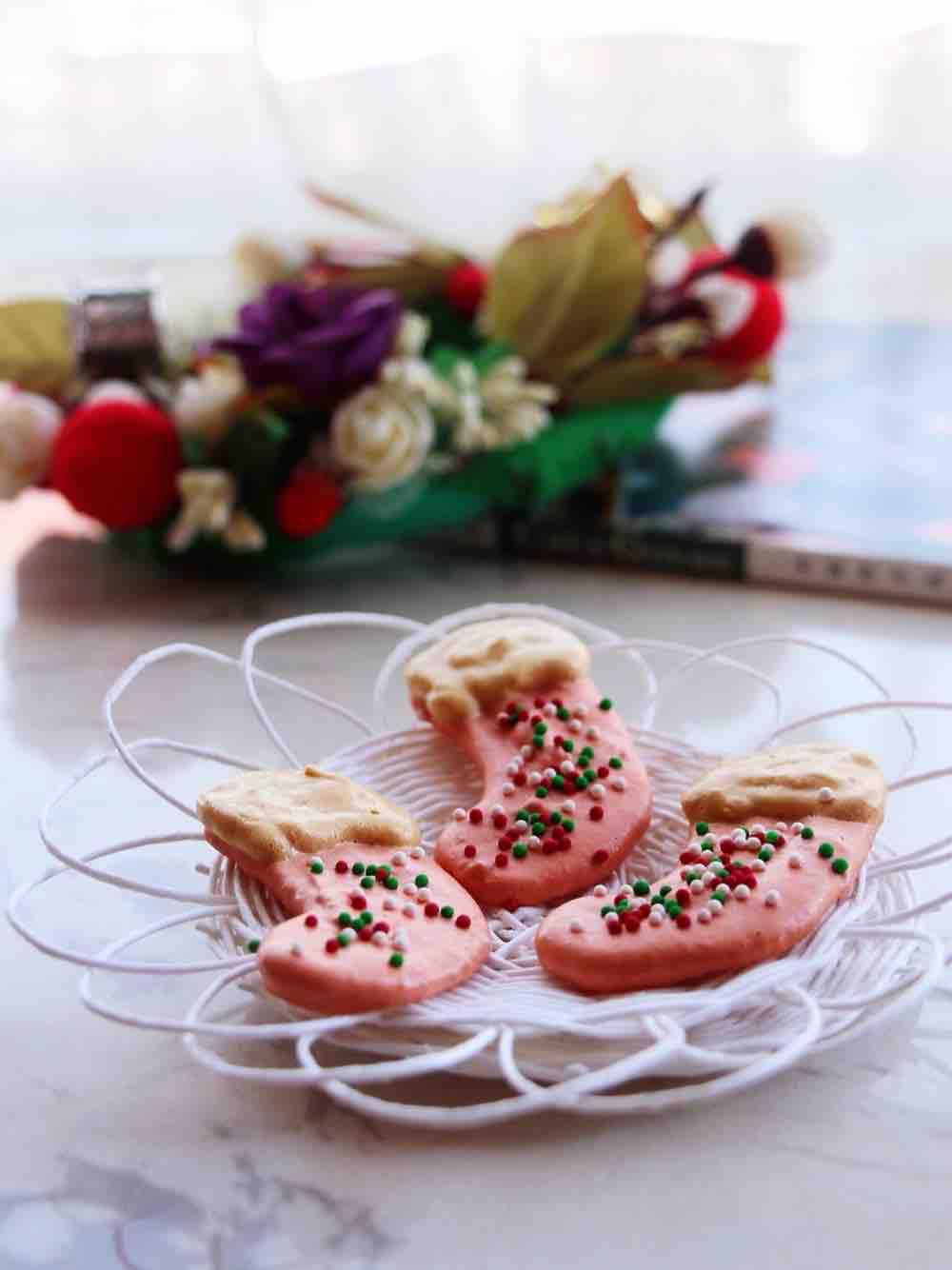 圣诞袜蛋白糖