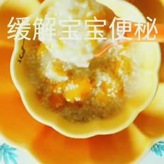 南瓜小米燕麦粥