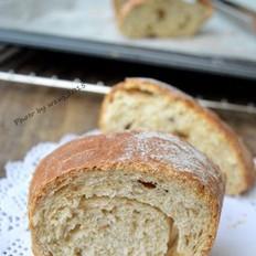提子干全麦面包