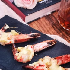 黄油芝士烤虾