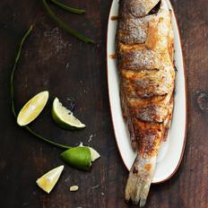 泰式香茅烤鱼#美的嵌入式烤箱#的做法