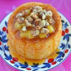焦糖核桃苹果蛋糕