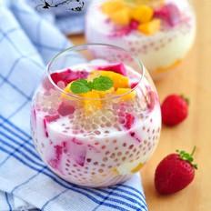 椰奶水果捞