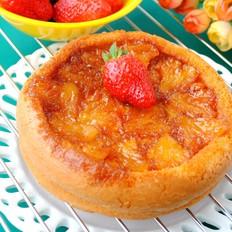 菠萝反转蛋糕