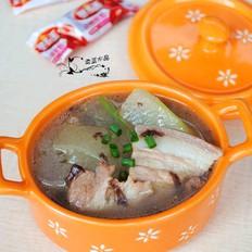 紫菜冬瓜肉片汤