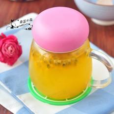 百香果蜂蜜饮