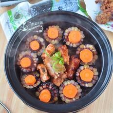 黑玉米排骨锅