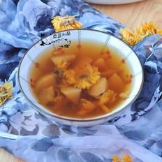 菊花苹果汤