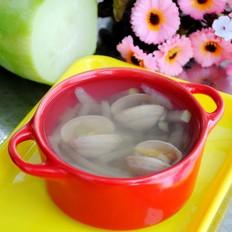 白萝卜白蛤汤