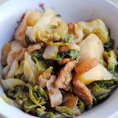 白菜炖猪肉