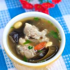 海带黄豆排骨汤