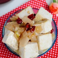 咸菜煮豆腐