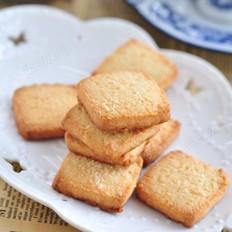 椰蓉方块饼干