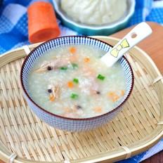 北极虾砂锅粥