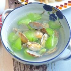 丝瓜蛤蜊汤