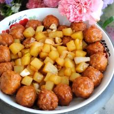土豆烩丸子